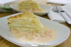e-cocinablog: gratinado de patata y puerro