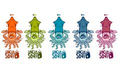 UNCLE SQUID GAMING by LACKO ILLUSTRATION, via Behance