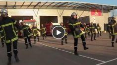 Les pompiers bourguignons font le buzz avec un flashmob de zumba réussi