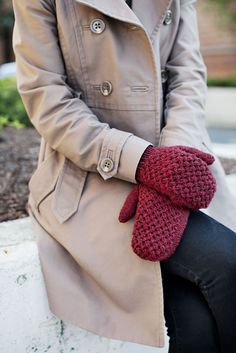 Broome hat and mittens set from Brooklyn Tweed
