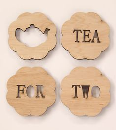 tea for two coasters from Snowfan on etsy