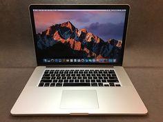 "Apple MacBook Pro Retina 15.4"" Laptop MC975LL/A (June 2012) 2.3GHz i7 8GB 256GB"