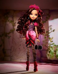 Ever After High - Monster High's sister line. Briar Beauty