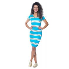 Vestido Esporte Azul Mãe - Hapuk
