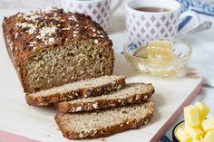 So delicious! Odlums Recipes, Quick Bread Recipes, Honey Recipes, Irish Recipes, Baking Recipes, Healthy Recipes, Recipies, Honey Oat Bread, Cut Recipe
