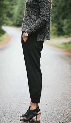 Aritzia-Babaton-Dexter-Black-Dress-Pants-Size-Xs