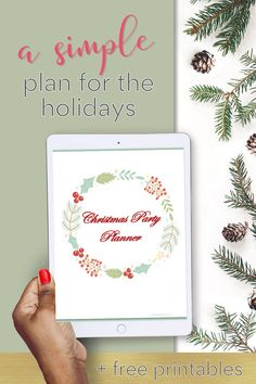 FREE! PDF Christmas Planner. Have the best Christmas this year with an organized plan. All the worksheets you need to plan out a fun holiday season this year.  Meal planner, shopping, cooking timeline. Take a look and clink over to see the whole planner
