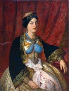 Persida Nenadović in a beautiful Libade (Pharyah)