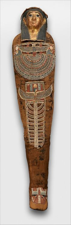 Mummy of Nesmin Period: Ptolemaic Period Date: 305–30 B.C. Geography: Egypt, Northern Upper Egypt, Akhmim