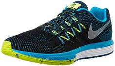 info for 505ba 82412 Nike Air Zoom Vomero 10, Men s Training Running Shoes, Black - Schwarz  (Schwarz   Blau), 9.5 UK
