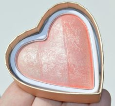 Makeup Revolution Blushing Hearts Highlighter and Blusher