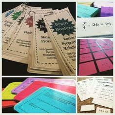 This Math Mega Bundle includes the majority of my math resources for 6th grade math! Resources include enrichment problem task cards, Brain Busters, numerous math games, and more! Most of the activities could be used in a math center or in a whole group setting. The products included focus on increasing student understanding of the number system, rates and ratios, expressions and equations, geometry, statistics, and probability.