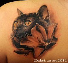 OUR FUTURE TATTOO Mama Tattoo, I Tattoo, Tattoo Quotes, Cat Portrait Tattoos, Rug Loom, Body Tattoos, Pet Tattoos, Animal Tattoos, Future Tattoos
