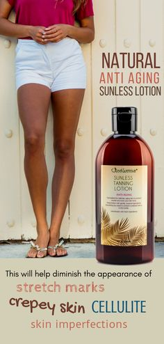 All-natural sunless tanning lotion Beauty Care, Beauty Skin, Beauty Secrets, Beauty Hacks, Suntan Lotion, Tips Belleza, Belleza Natural, Health And Beauty Tips, Skin Treatments