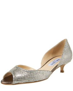 Lyon Glittered Kitten Heel d\'Orsay by Jimmy Choo at Bergdorf Goodman.