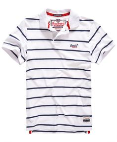 Featuring a comprehensive selection of colours and designs, our range of men's polo shirts has something for every style. Casual Outfits, Men Casual, Casual Attire, Sports Graphic Design, Boys Summer Outfits, Le Polo, Camisa Polo, Clothes Pictures, Striped Polo Shirt