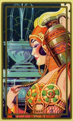 Playing card art, 1920s