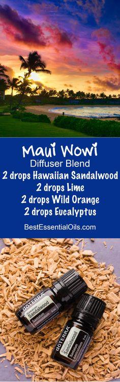 Maui Wowi doTERRA Diffuser Blend