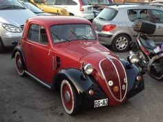 Fiat Topolino seen and photographed this summer in Pals (Costa Brava - Catalunya)