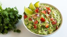 Not-So-Fat Guacamole - Forks Over Knives