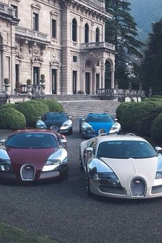Outrageous is the only way to describe the Bugatti Veyron. The fastest production car in the world with a top speed of Bugatti Cars, Bugatti Veyron, Ferrari, Bugatti 2017, My Dream Car, Dream Cars, Supercars, Maserati, Sweet Cars