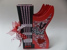 guitar mini album for your valentine at etsy store