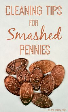 How to clean your disney souvenir smashed pennies personalized items, clean dishwasher, tips, Disney Souvenirs, Travel Souvenirs, Travel Destinations, Smashed Pennies, Pressed Pennies, Disney Tips, Disney Ideas, Walt Disney, Disney Planning