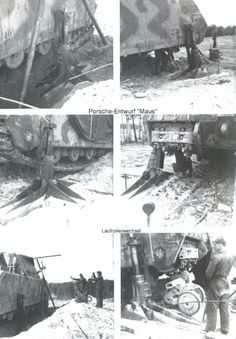 Equipment required to service a Maus Super Tank