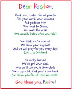For pastor appreciation poems or projects to try pinterest pastorappreciationkidsposter pastorappreciationkidsposter thecheapjerseys Image collections