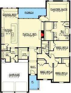 One Level European House Plan with Open Layout - 915008CHP | 1st Floor Master Suite, Butler Walk-in Pantry, CAD Available, Craftsman, European, PDF, Photo Gallery | Architectural Designs