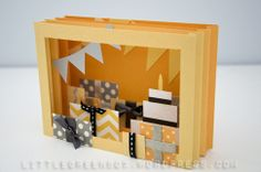 Diorama card- another great pop-up tutorial by the little green box!
