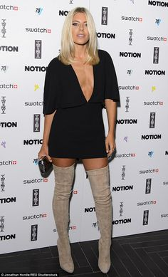 Cover star: As the VIP guest at Notion Magazine's London party on Wednesday night at the C...