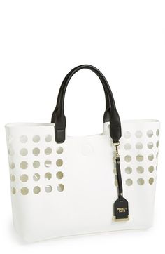 POVERTY FLATS by rian Perforated Tote available at #Nordstrom