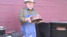 Cee Dub shows what to do when you cast iron gets rusty