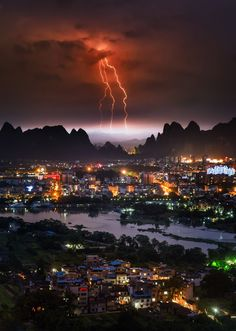 Spirestorm - Guilin, China via Google+