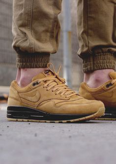 Nike Air Max 1 Premium QS 'Flax' by exclucity