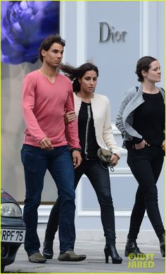 Rafael Nadal Strolls with Girlfriend Xisca Perello