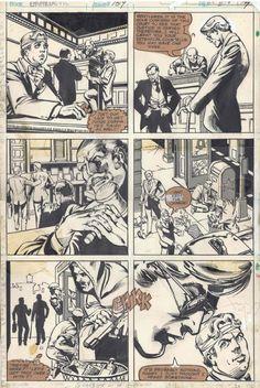 Frank MIller Daredevil 159 Page 7 Comic Art