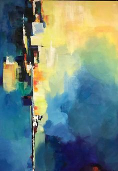 Grande peinture à lhuile abstraite peinture abstraite