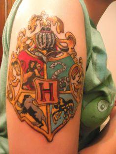Hogwart's Crest Tattoo :)
