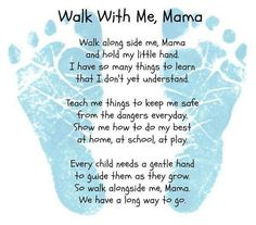 Walk beside me, mama...made me cry