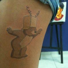 I adore Little Bear <3 Feita em Talita Correia Tatuador Jeferson