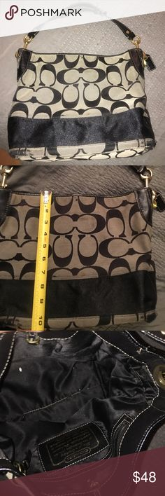 Coach purse Used conditon but not in bad shape as you can tell :) Make me an offer  Coach Bags