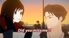 #RWBY Ruby and Qrow <<< I found another one that shows my relationship with my family