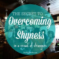I used to hide in the bathroom to avoid mingling with people I didn't know, but I've since learned the secret to overcoming shyness when in a crowd of strangers. How To Overcome Shyness, Overcoming Shyness, Shy People, Confidence Coaching, Talk To Strangers, Effective Communication, Social Anxiety, Phobias, Anxiety Relief