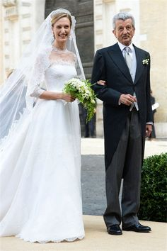 Le prince Amedeo de Belgique et Elisabetta Maria Rosboch von Wolkenstein se sont…