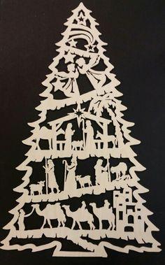 The Nativity Tree I just finished.