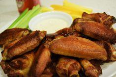 Superbowl Snack: Crispy Smoked Chicken Wings