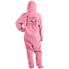 Auditions Not One Night Stands Footed Pajamas on CafePress.com