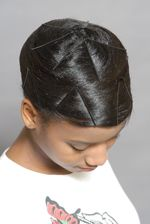 stretch that hair, you will love the result.  Get those rollers and follow it by doing a hair doobie...